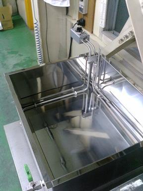 株式会社ポラリス 超音波洗浄装置タンク